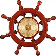 ШБСТ-С07 Штурвал сувенирный, барометр (8 ручек)
