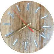 Часы Ч-21 дуб светлые