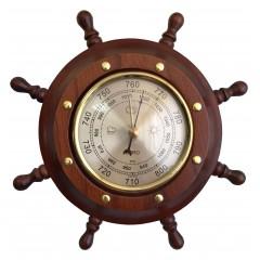 ШБСТ-С05 Штурвал сувенирный, барометр (8 ручек)